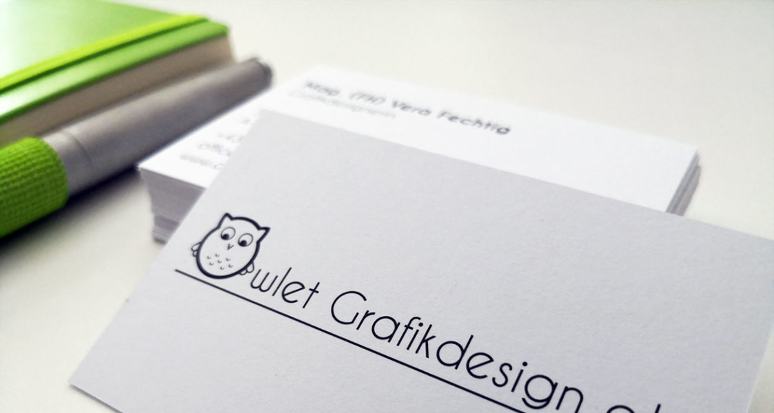 Deine Wohlfühl Visitenkarte Aus Lochau Owlet Grafikdesign E U